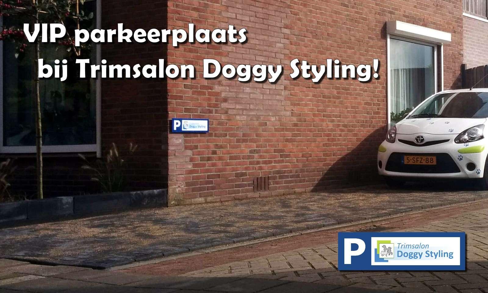 Trimsalon Doggy Styling - Parkeerplaats